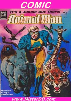Animal Man Colección Definitiva