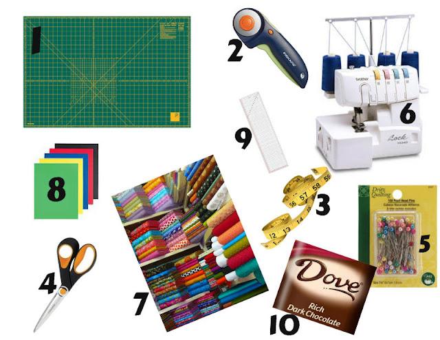 Sugarplum Cuties: Sewing necessities
