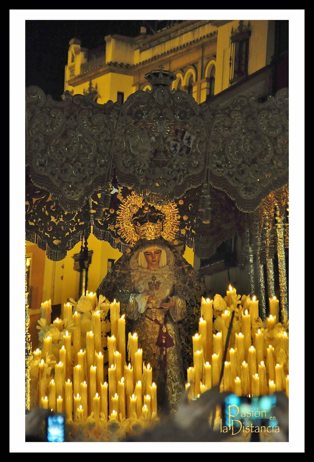 Virgen de Gracia y Esperanza San Roque Domingo de Ramos 2014 en Alfalfa
