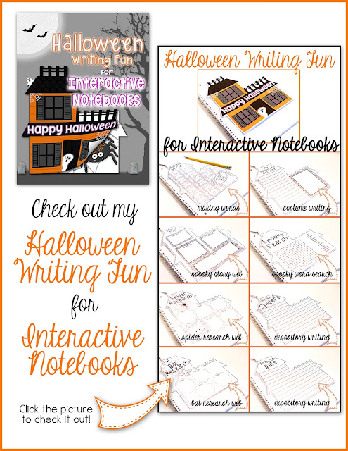 halloween interactive notebook