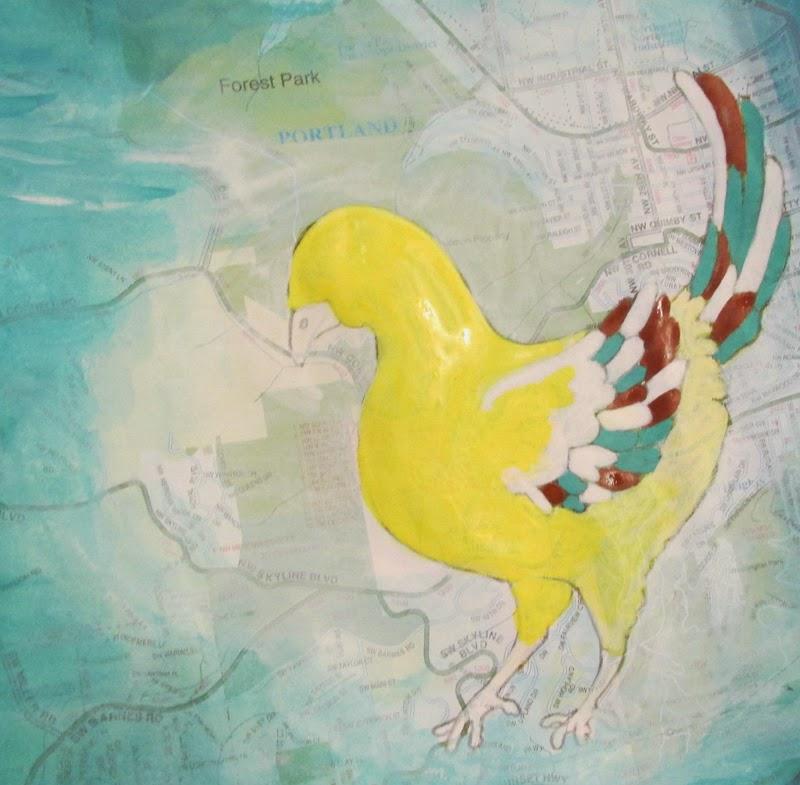 ©2014 Lauren T Kistner, BIRD WIP, ink