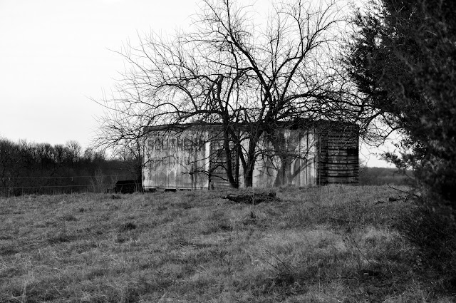 Retired Railroad Car Hickory Ridge Studio