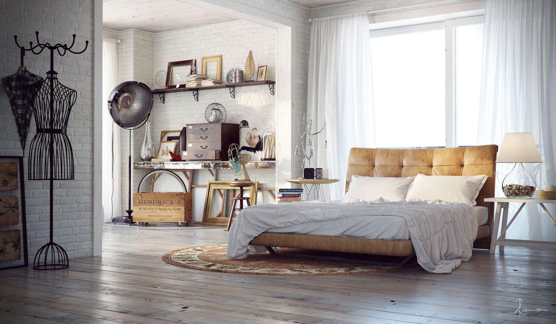 industrial bedrooms design inspiration be inspired