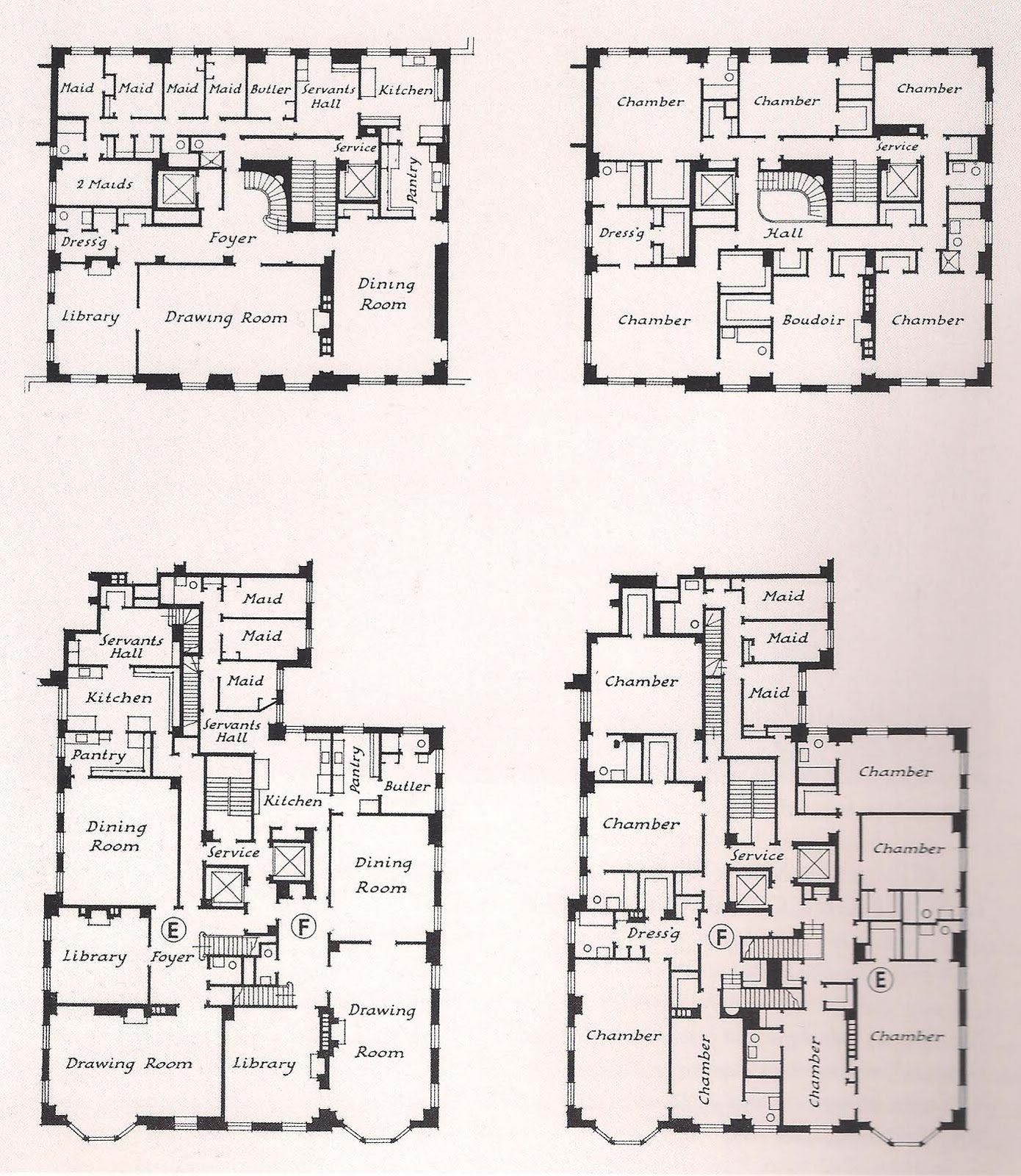Apartment Type Plans