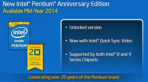 Pentium Anniversary