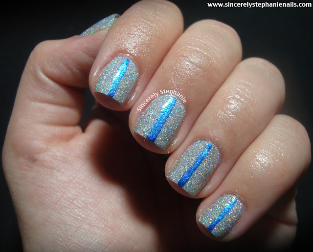 china glaze glistening snow blue bells ring