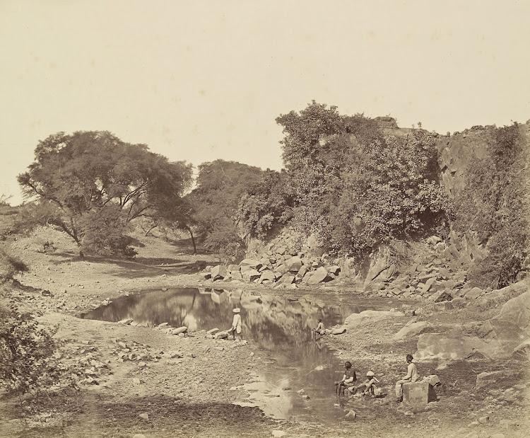 The Crow's Nest Battery - Delhi c1858