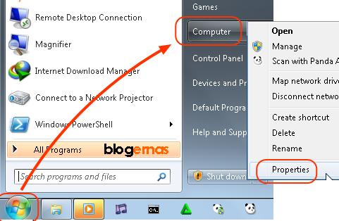 Cara Cepat Mengetahui Berhasil tidaknya Proses Aktivasi Windows 7