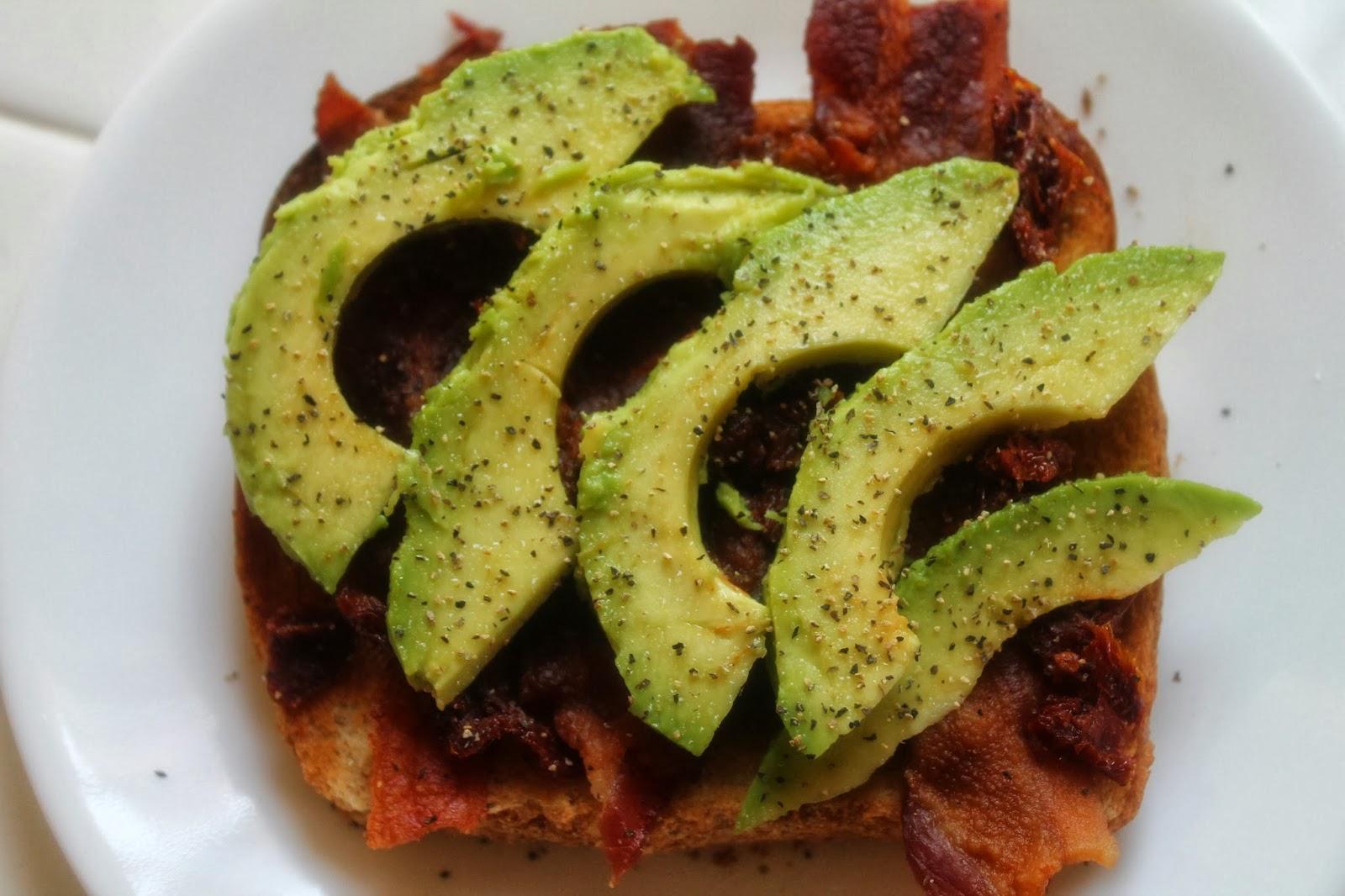 Bacon, Avocado, And Sun-Dried Tomato Sandwich Recipe ...