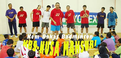 Blog rasmi Kem Bakat Badminton KBS-Nusa Mahsuri