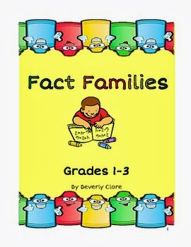 Number Names Worksheets : fact family activities ~ Free Printable ...