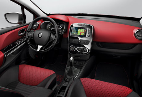 Renault Clio interiör