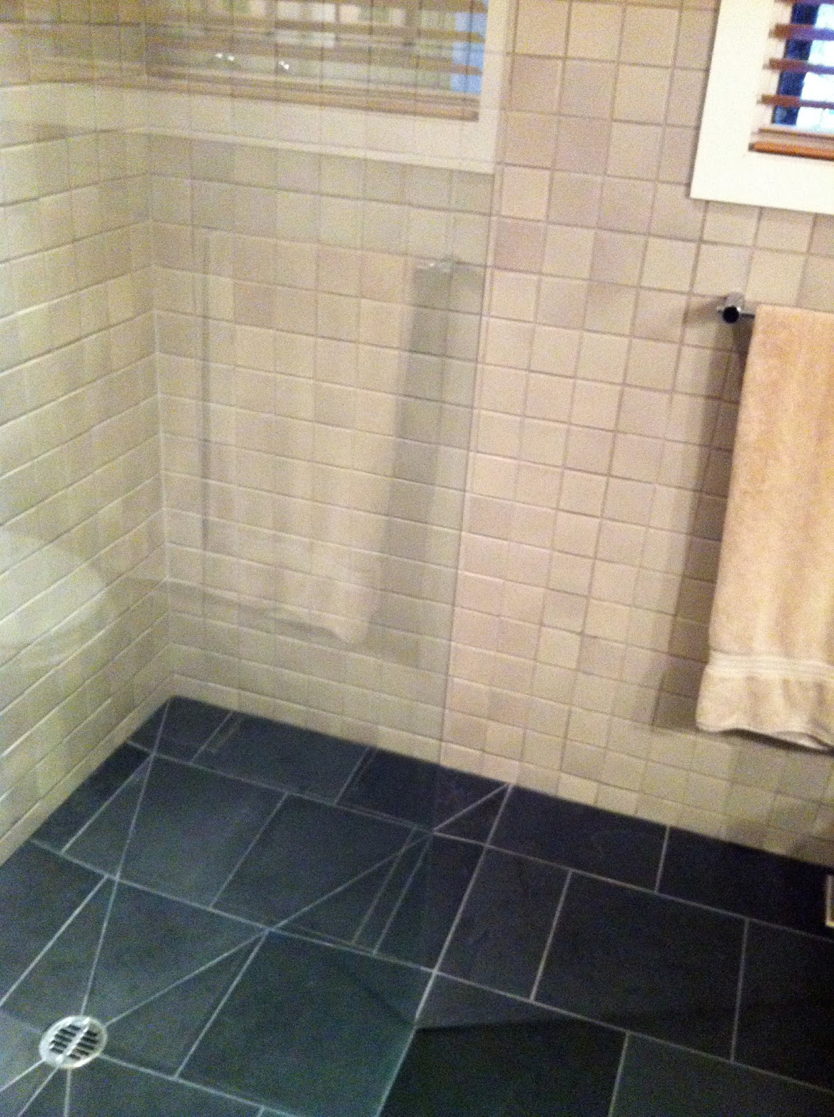 Beautiful  Bathroom Black Bathroom Floor Dark Gray Bathroom Gray Bathroom Tiles
