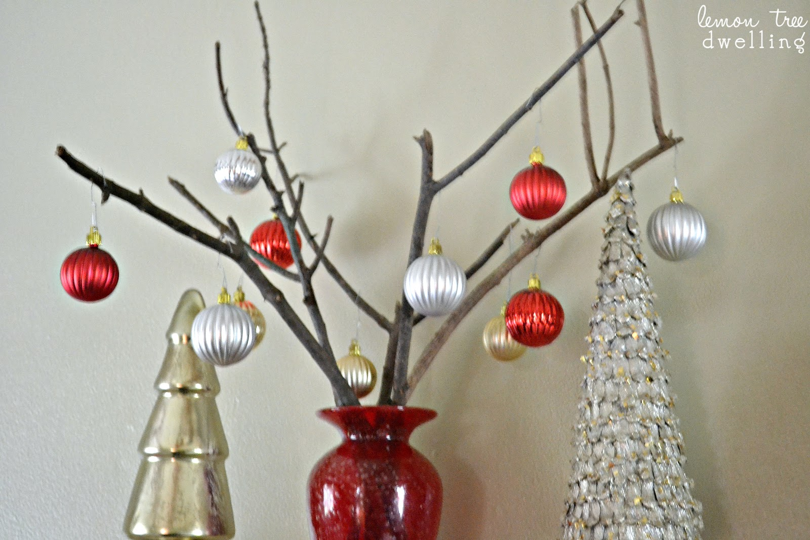 Bare Branch Christmas Tree | Lemon Tree Dwelling