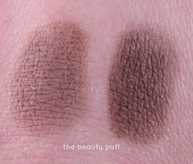 laura geller baked brow tones brunette swatch - the beauty puff