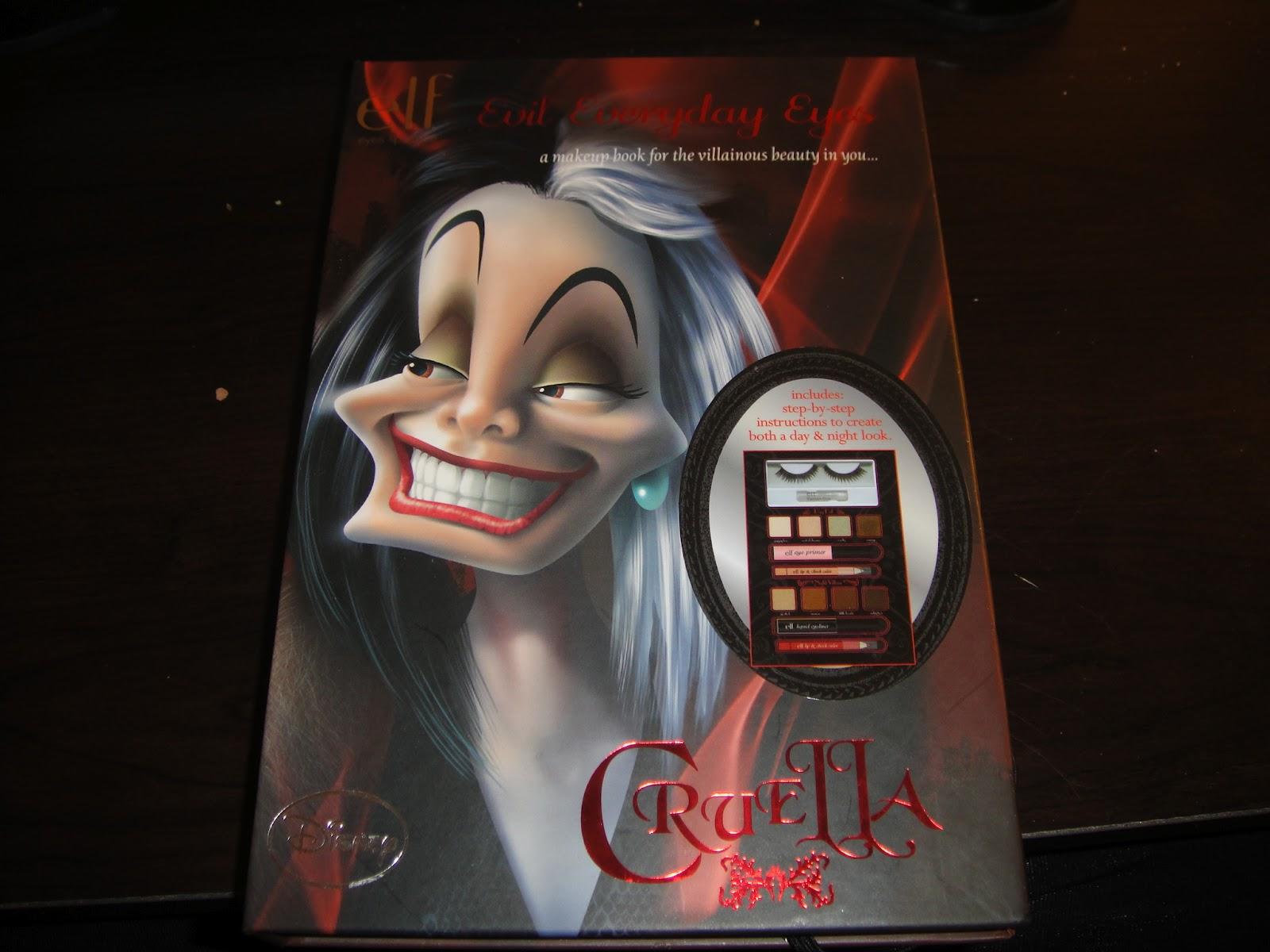 e.l.f.'s Villainous Villain: Cruella, halloween makeup, disney, villanious villains, elf, cruella, makeup kit