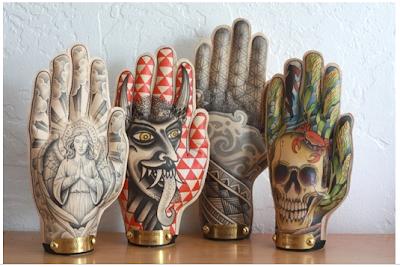 Dream. Pray. Create.: Lesson Idea :: Mehndi Hand Sculpture ...