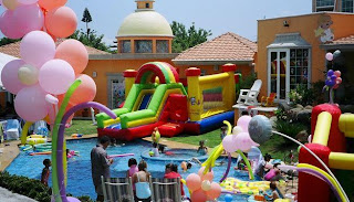 Children's Parties, Locations, Environments and Lounges