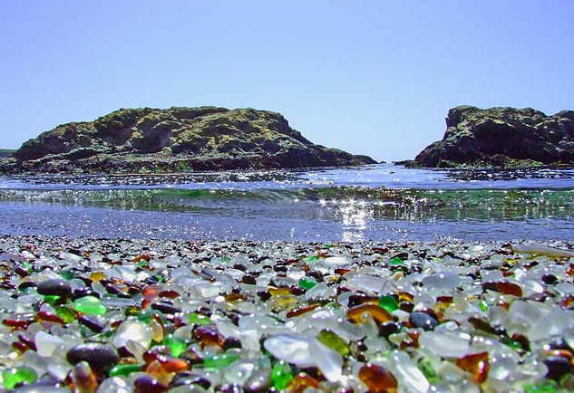 Glass Beach, California, USA