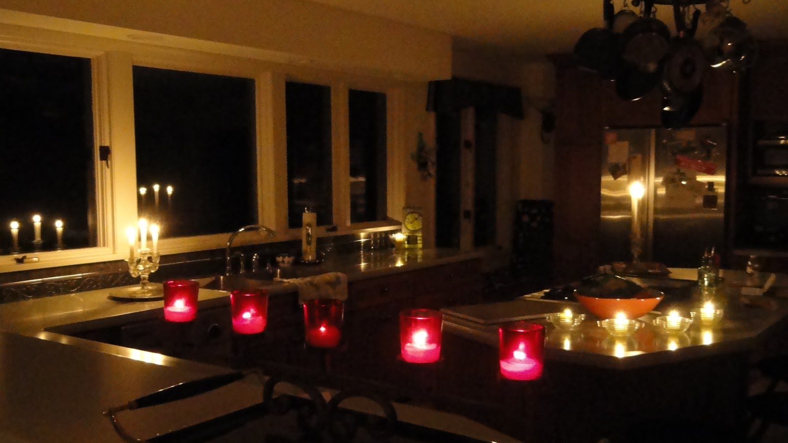 Once All Of The Votives And Tapers Were Lit, I Stood There, Amid The  Flickering And Rippling Glow Of Candle Flames.