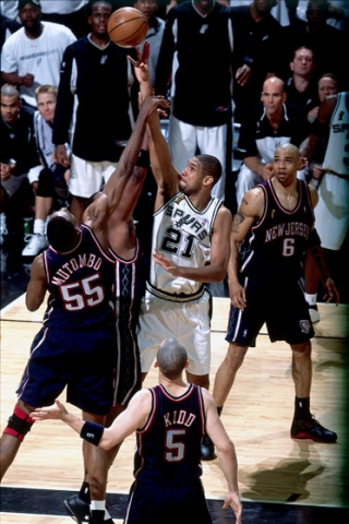 The stage was now set for a clash between the two teams to see who would  win the 2003 NBA Championship.  Game 1 f068565aa