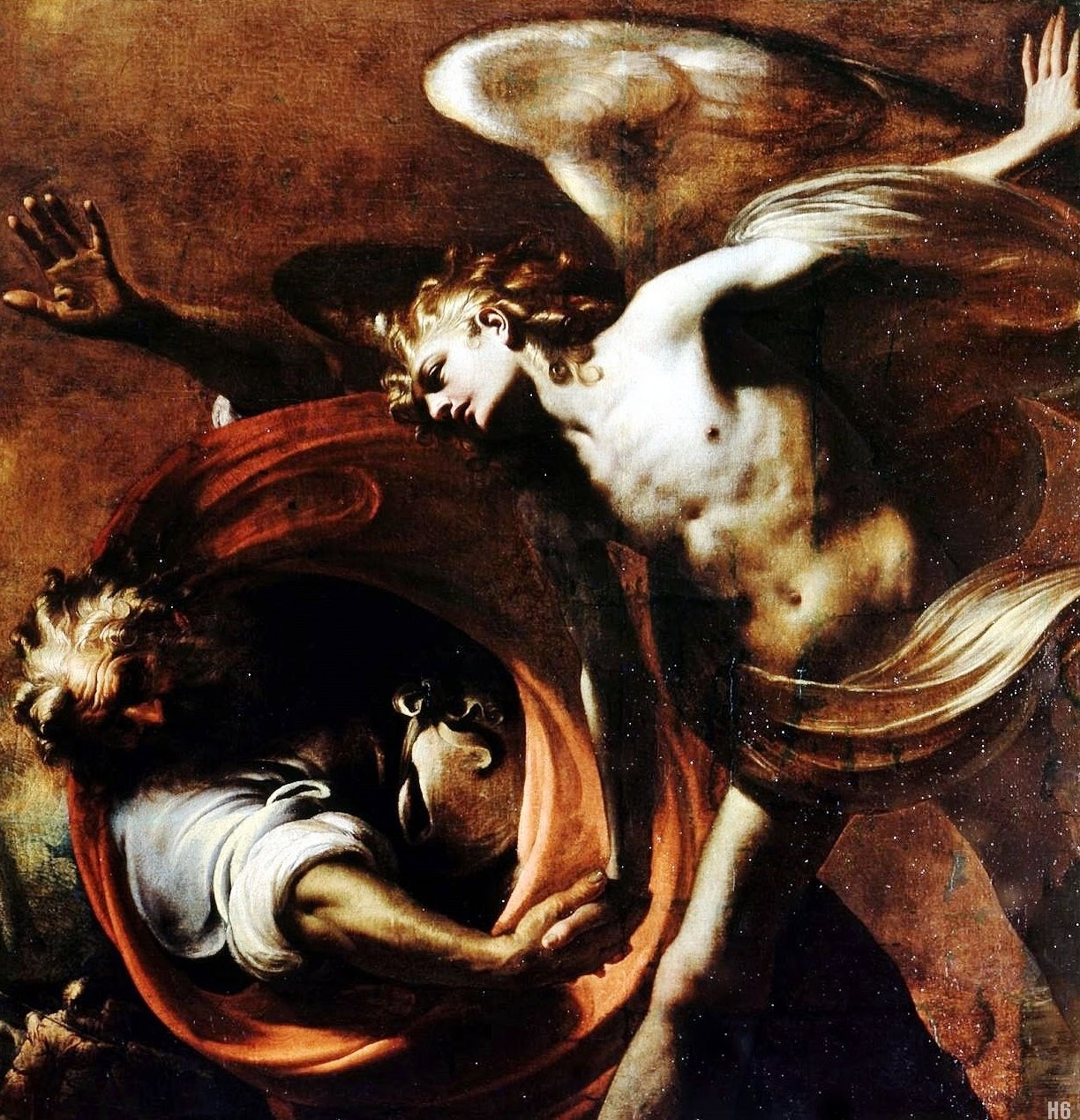 Jacob Wrestling [with] the Angel, Pietro Ricchi  http://hadrian6.tumblr.com/7 June 2014