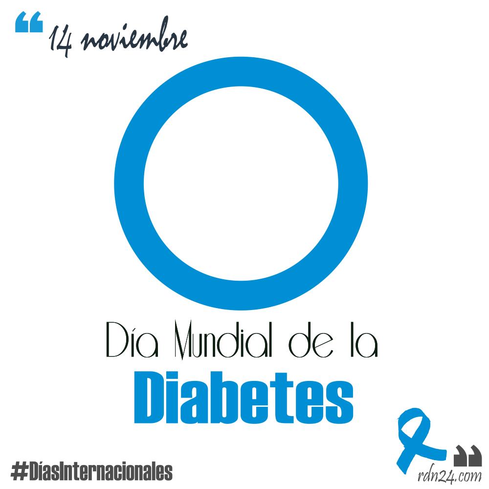 14 de noviembre: Día Mundial de la Diabetes #DíasInternacionales