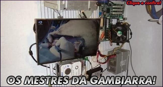 Gambiarras - Fotos  de gambiarras