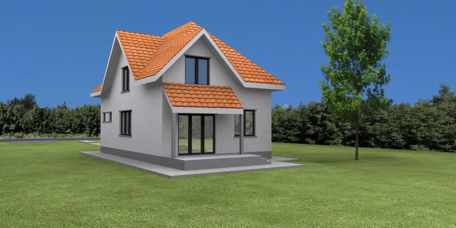 Case planuri proiecte proiect vila tip i for Planuri de case