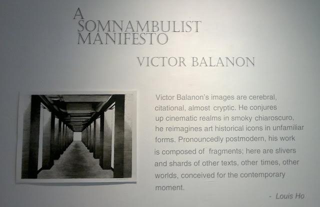 A Somnambulist Manifesto, Victor Balanon, Artesan, Singapore