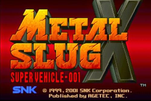 Download Game PC : Metal Slug X Full Version