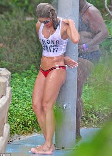 Jennifer Nicole Bikini Candids Beach Pictures