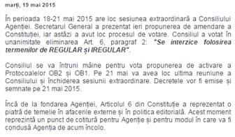 AGENȚIA MASONICĂ | Consiliul a aprobat amendarea Constituției