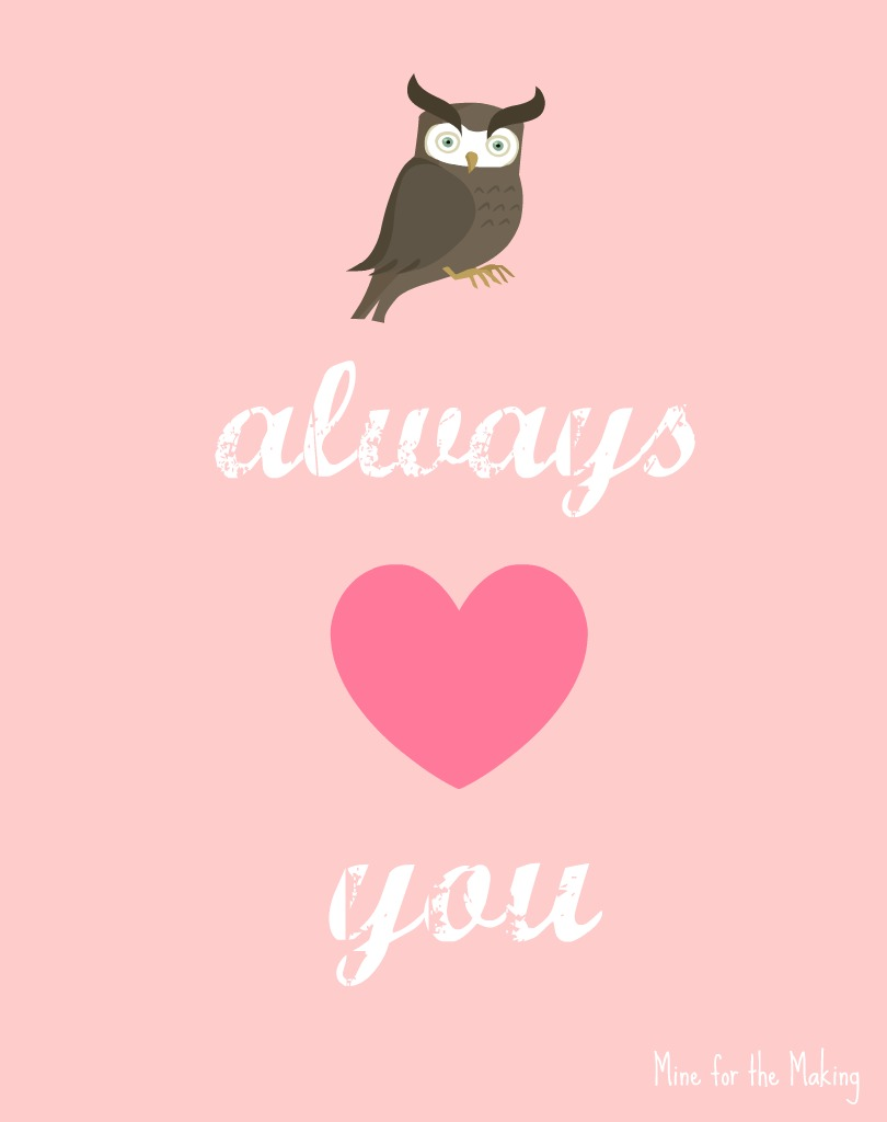 Top 10 Free Valentines Day Cards Printable – Owl Valentines Day Cards