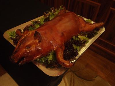大红乳猪酿糯米饭