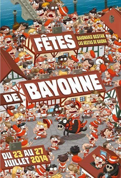 Journée des enfants des fêtes de Bayonne 2014