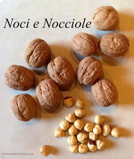 nocciole e noci: