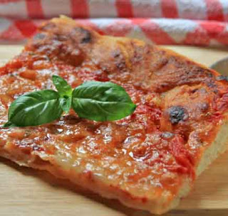 Long leavening pizza