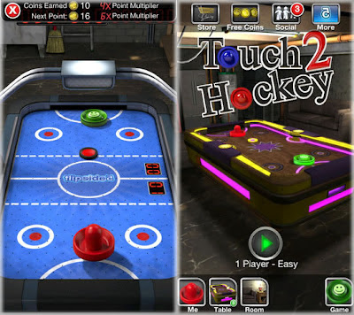 touch hockey 2 iphone 5 game
