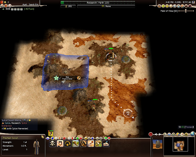 Civilization 4 Dune Wars - Fremen Scouts Description