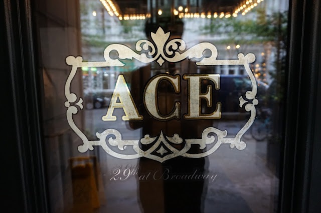 ace hotel in new york city door lobby