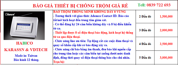 Lap Dat Thiet Bi Chong Trom TP HCM | Cong Ty Lap Dat Bao Dong Chong Trom Tai TP HCM, Lap Bao Trom Tai TPHCM, Lap Dat Chong Trom Gia Dinh Tai TPHCM
