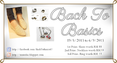 Back To Basics Giveaway