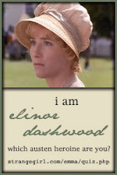 I am Elinor Dashwood