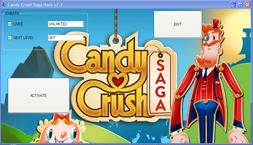 Candy Crush Saga Hack v7.1 Cheats Lives Next Level Download April 2013