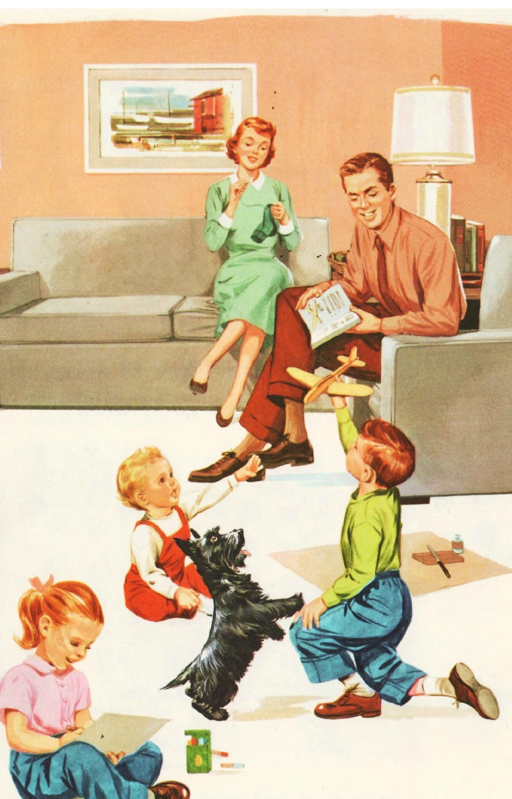 Vintage housewifes on pinterest vintage ads housewife for Classic 50s housewife