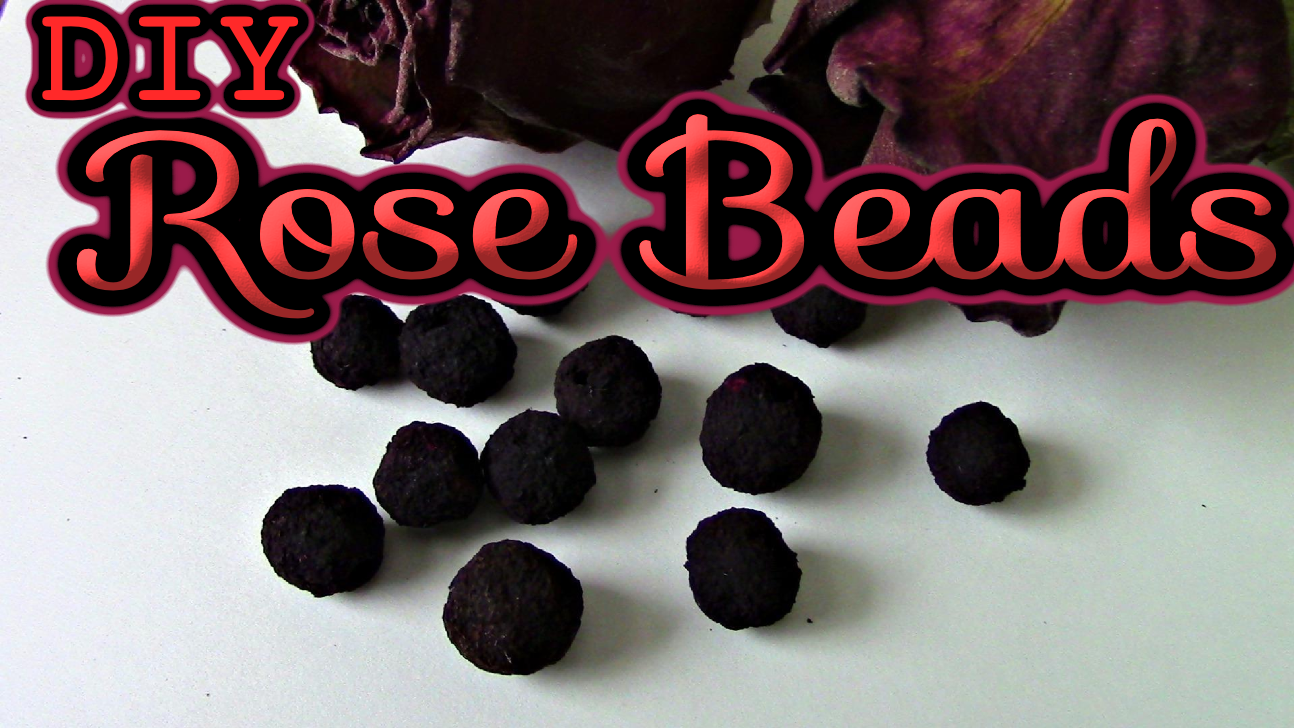katie cooks and crafts how to make rose beads