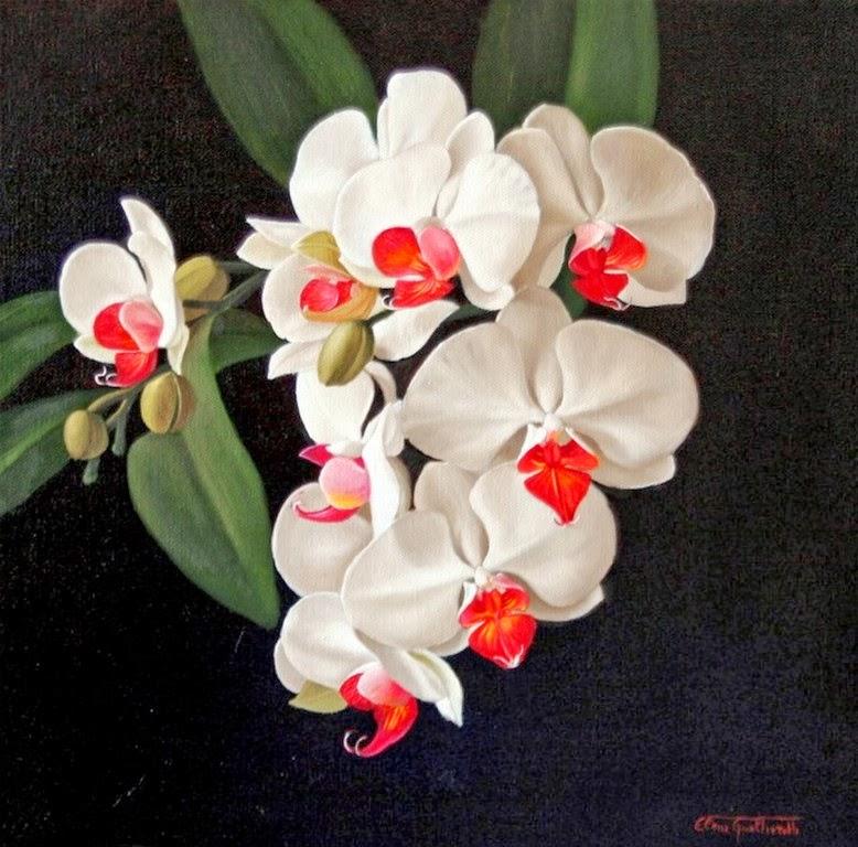 Imagenes De Flores Pintadas En Oleo - como pintar al oleo YouTube