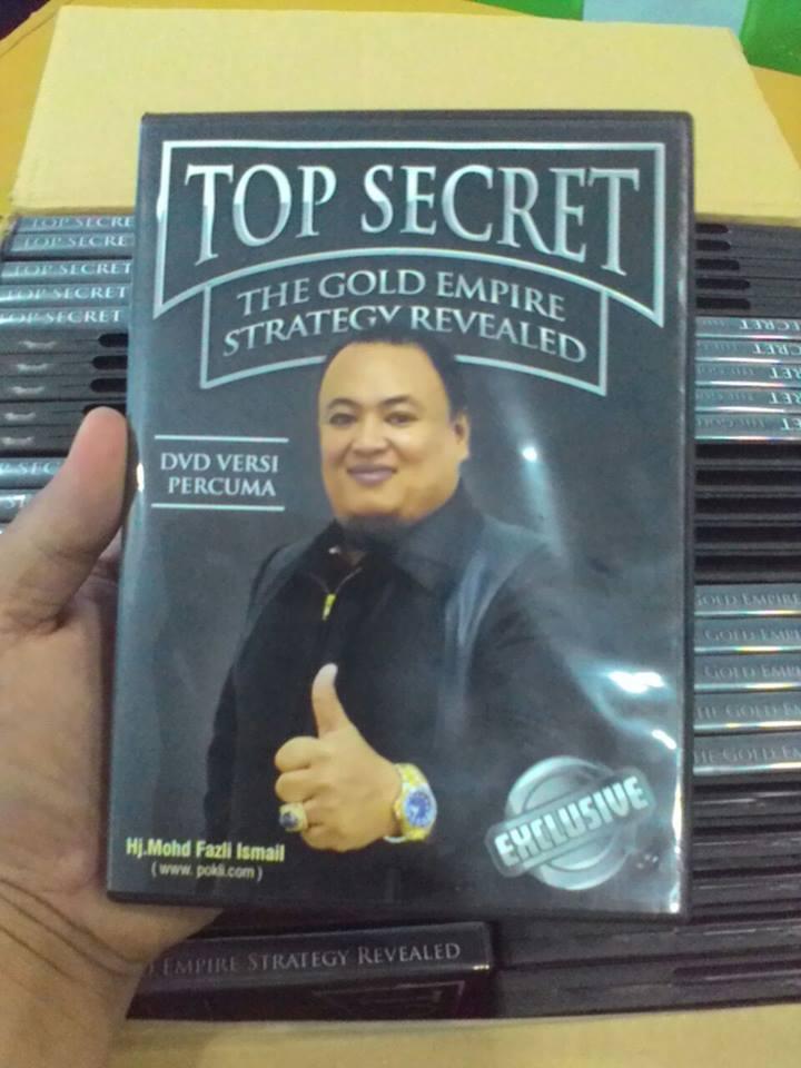 DVD TOP SECRET - ILMU EMAS & PERAK