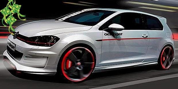 Modifikasi Mobil Volkswagen VW Silver